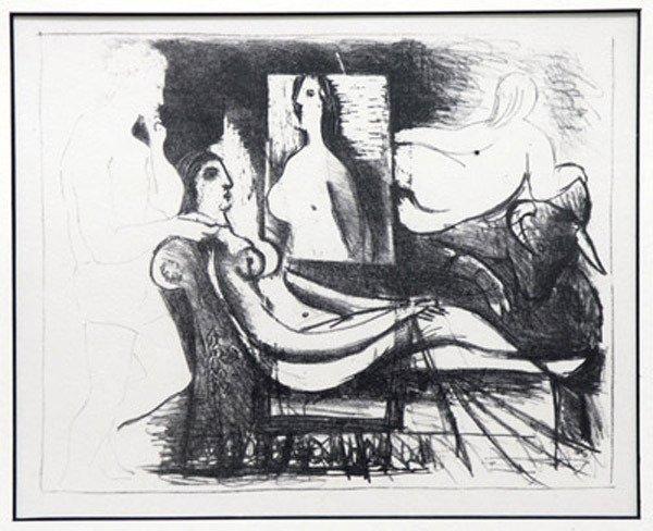 2315: Lithograph, Pablo Picasso