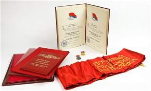 (lot of 9) A collection of Ukrainian Soviet Socialist