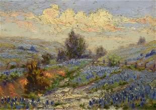 Painting, Texas Bluebonnets, 1926