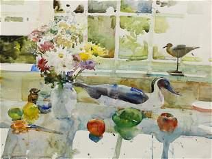 Watercolor, Charles Reid