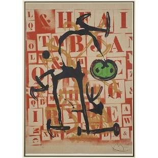Print, Joan Miro