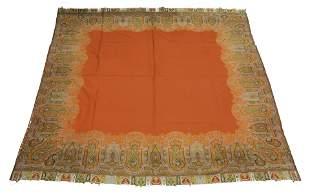 A paisley piano shawl