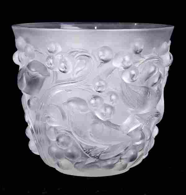 A Lalique France vase