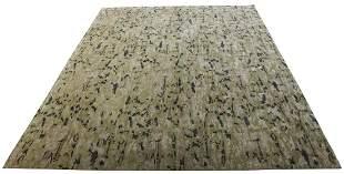 A modern hand made carpet