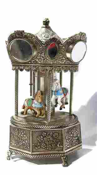 Schmid merry-go-round music box