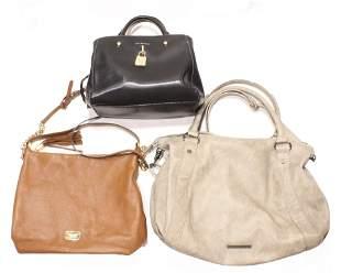 (lot of 3) Handbags