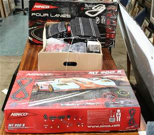 Collection of boxed model cars