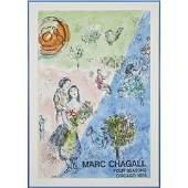 Print, Marc Chagall, Four Season, Chicago