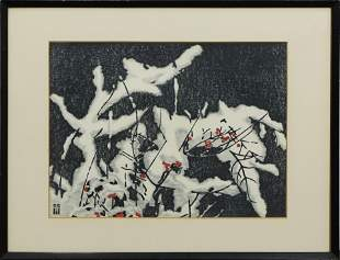Print, Kiyoshi Saito