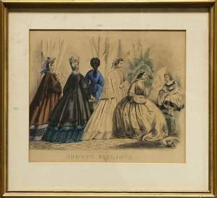 Print, Godey's Fashions