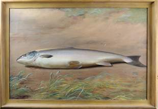 Painting, Dead Fish on Land