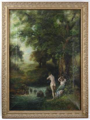 Painting, The Bathers