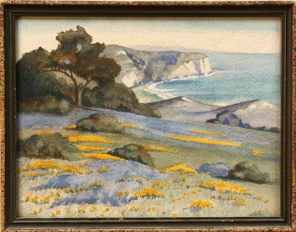 6004: watercolor, M. Richards, San Juan Capistrano