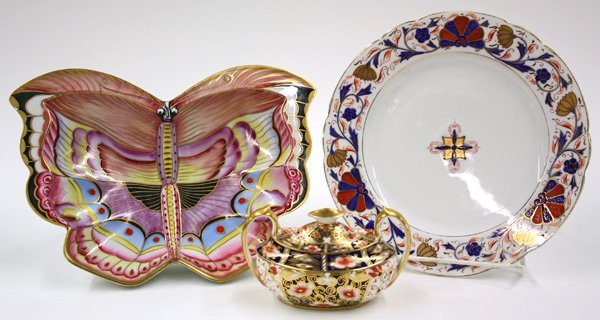 6010: Royal Vienna porcelain butterfly bowl