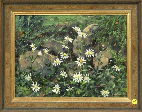 4005: oil, David Badcock, Wild Daisys