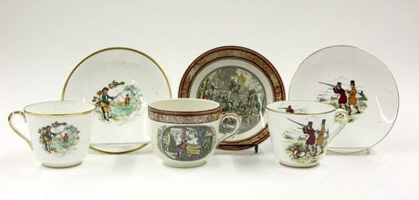 4011: ceramic cups and saucers