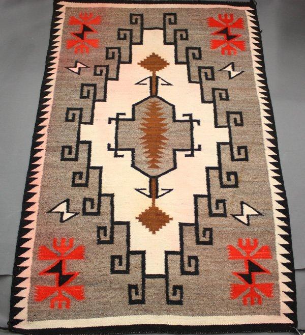 4159: Navajo regional Klagetoh design rug