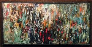 oil on canvas, Lida Marian Giambastiani