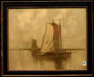 Leipold framed print