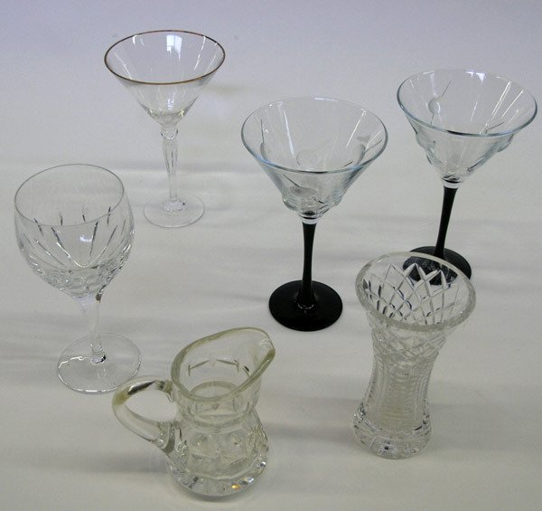 21: Waterford glassware