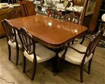 69: Regency style dining set