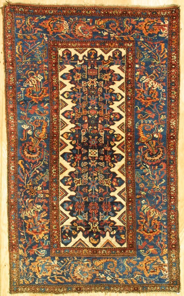 404: Persian Kurdish Bijar Rug