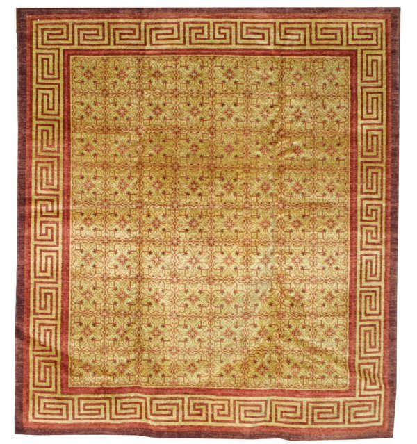 412: Persian Mongolian design carpet