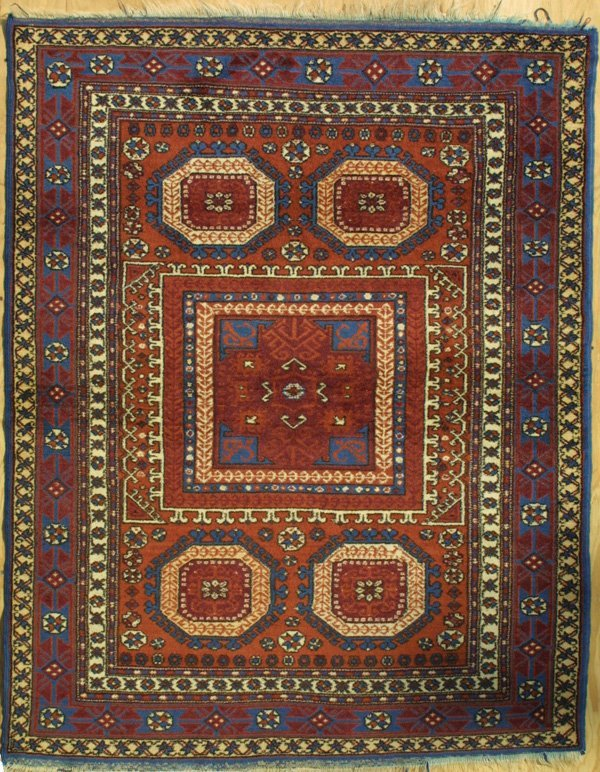 417: Turkish Bergama rug