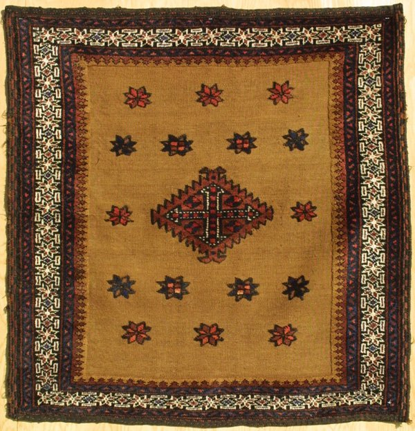 419: Arab Baluch pile sofreh (tablecloth)