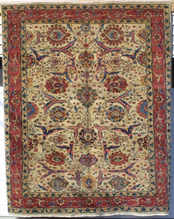567: Persian Bijar carpet