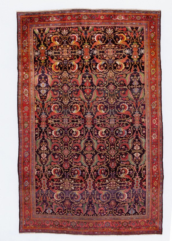580: Persian Sultanabad carpet
