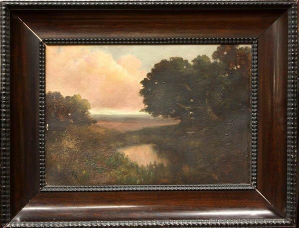 2000: Painting, Arthur Beckwith, Reflection Sunrise