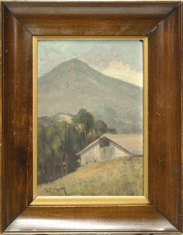 2001: Painting, Arthur Beckwith, Cabin