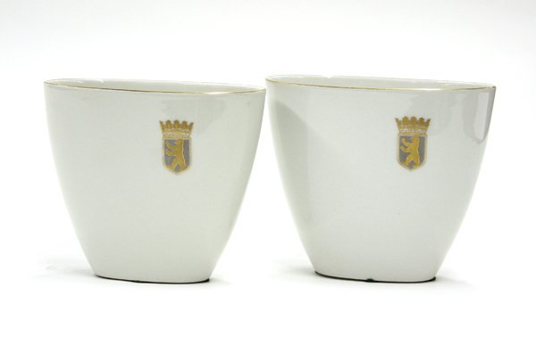 2011: KPM porcelain vases
