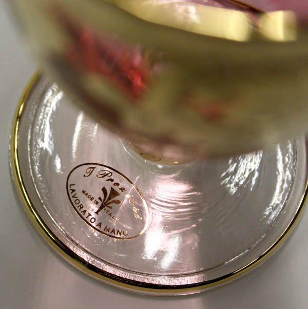2030: T Preziosi Italian glass stemware - 4