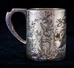 A Tiffany sterling child's cup