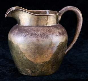 Arts & Crafts Lebolt & Co hand beaten sterling water
