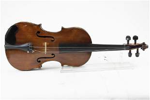 A European violin with grafted neck