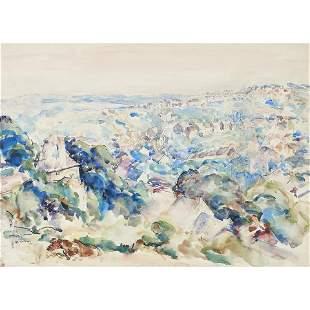 Watercolor, Joseph Raphael