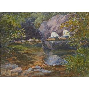 Watercolor, Albert DeRome