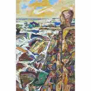 Painting, Bernard Chaet
