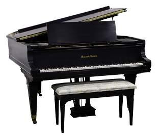 A Mason and Hamlin Model A baby Grand piano