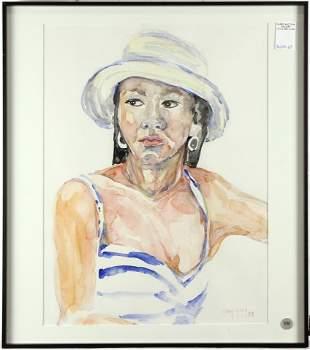 Watercolor, Mary Yung