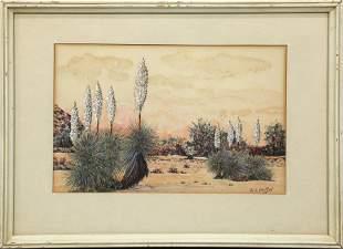 Watercolor, William E Reiffel