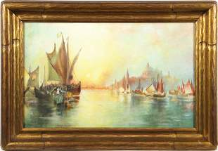 Painting, Approaching Venice