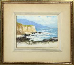 Watercolor, Edward Langley