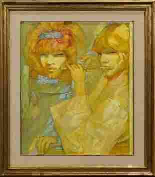 Painting, Arturo Piletti