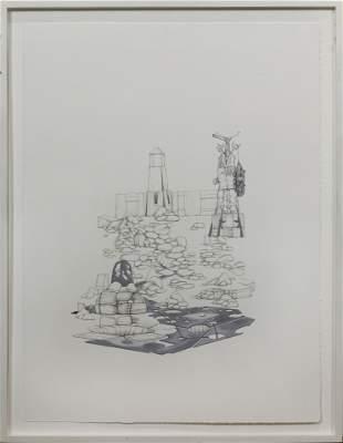 Work on Paper, Robert Gutierrez