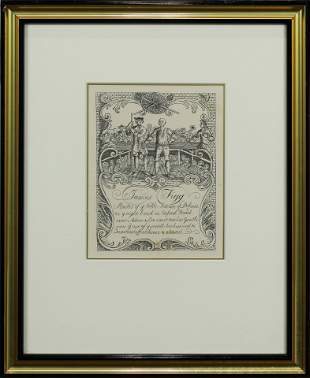 Print, Formerly Attributed to William Hogarth
