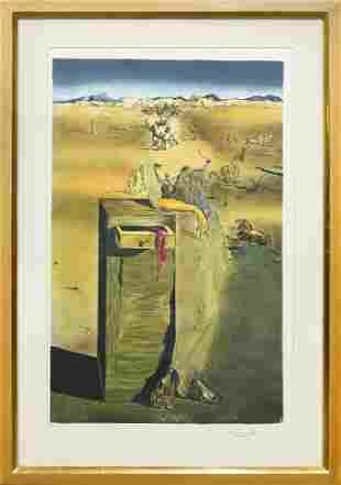 Print, After Salvador Dali
